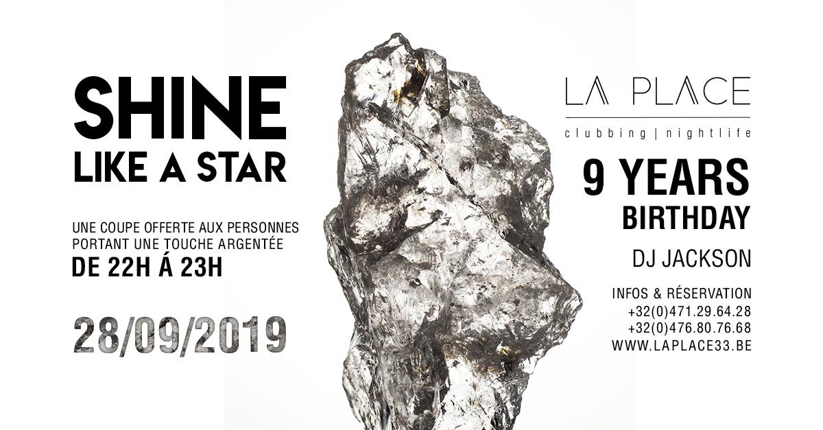 soirée Shine like a star