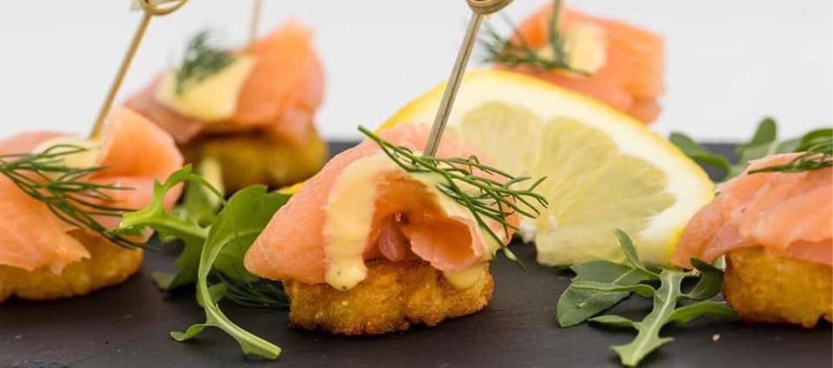 tapas saumon citron du chef